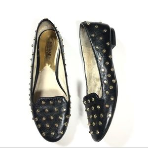 Michael Kors Ailee Studded Loafer Flat
